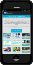 Active Living Mobile App