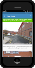 Southport Hospital Wayfinding App
