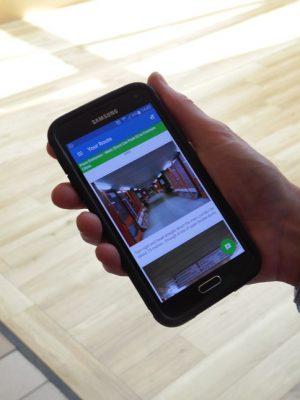 Southport Hospital Wayfinding app